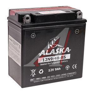Аккумулятор ALASKA 8А/ч мото 6СТ8 12N9-4B-BS
