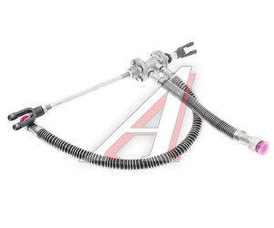 Клапан МАЗ включения привода сцепления со шлангами 400мм БААЗ 63031-1602738