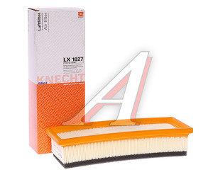 Фильтр воздушный FIAT Grande Punto (05-) (1.2/1.4) MAHLE LX1827, 55192012