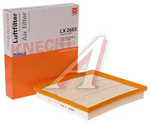 Фильтр воздушный CHEVROLET Malibu (12-) OPEL Insignia (08-) (1.6/2.8) MAHLE LX2683, 55560894