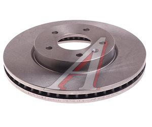 Диск тормозной CHEVROLET Captiva (07-) передний (1шт.) VALEO PHC R3017, DF4928S, 96625948