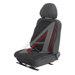 Накидка на сиденье с подогревом 12V с терморегулятором и массажем черная NOVA BRIGHT 36572
