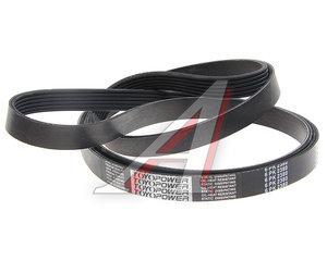 Ремень приводной поликлиновой 6PK2380 KORTEX KDB283, 6PK2380