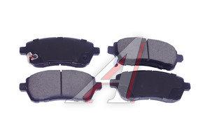 Колодки тормозные FORD Fiesta (08-) передние (4шт.) SANGSIN SP2113, GDB3437