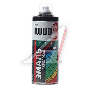 Краска черная акриловая satinRAL9005 520мл KUDO KUDO KU-0А9005, KU-0A9005