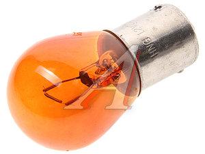 Лампа 12V PY21W BAU15s Amber HNG 12211, HNG-12211, А12-21-3