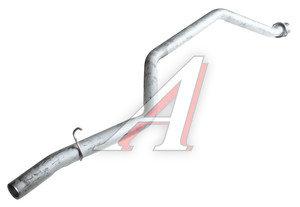 Труба выхлопная глушителя ГАЗ-2705,3221 длинная ЕВРО-3 СОД 3221-1203170-30
