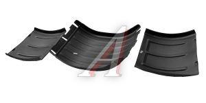 Крыло МАЗ двускатное 3-х составное (рессорная подвеска) комплект 6 шт.АИР PPL-60503133/PPL-60503134, К-700.01/ К-700.02 (СБОРКА), 54322-8511010