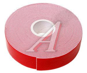 Скотч двухсторонний 22ммх5м красный профессиональный MEGAPOWER ET-225PRO