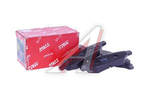 Колодки тормозные CADILLAC CTS задние (4шт.) TRW GDB4602