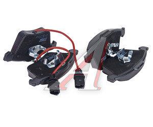 Колодки тормозные AUDI A4 (01-),A6 (05-),A8 (03-) передние (4шт.) TRW GDB1617