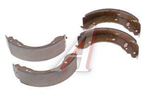 Колодки тормозные ГАЗ-3302 задние (4шт.) 3302-3502090, BS-T1004N / BMBS1004