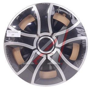 Колпак колеса R-15 черный/хром микс комплект 4шт. БИС ХРОМ МИКС БИС ХРОМ МИКС R-15
