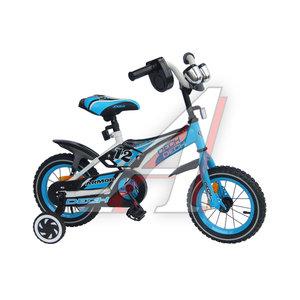 """Велосипед 12"""" 1-ск. (2-3 года) голубой ARMOR DECH TOTEM JKC1536-12"""