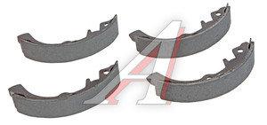 Колодки тормозные ВАЗ-1111 задние (4шт.) AD 1111-3502090