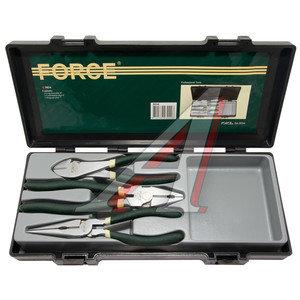 Набор инструментов губцевых 3 предмета FORCE F-5034