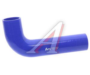 Патрубок МАЗ радиатора угловой (L=280мм, d=60) силикон 533632-1303251