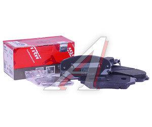 Колодки тормозные KIA Sportage (05-), Carens (06) передние (4шт.) TRW GDB3461, 581011DE00