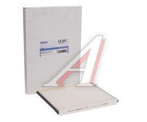 Фильтр воздушный салона CHEVROLET Aveo (06-) MAHLE LA361, 96962173