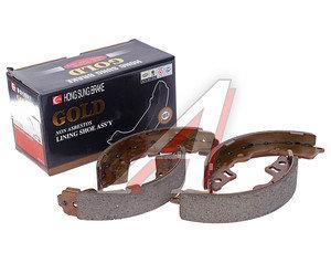 Колодки тормозные KIA Picanto (04-) задние барабанные (4шт.) HSB HS1020, 58350-07A00