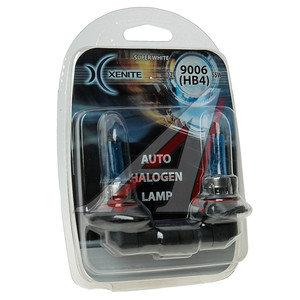 Лампа 12V HB4 55W P22d блистер (2шт.) Super White XENITE 1007041
