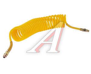 Шланг пневматический витой М16 L=7.5м (желтый) СТАНДАРТ AIR FLEX М16 L=7.5м (желтый) (PE) R, AIR FLEX М16 L=7.5м (желтый) (PE)
