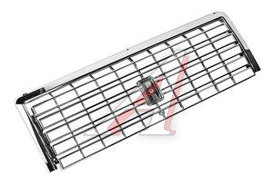 Облицовка радиатора ВАЗ-2107 хром с молдингом комплект Сызрань (оригинал) 2107-8401014