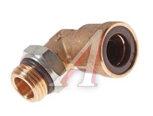 Соединитель трубки ПВХ,полиамид d=12мм (наружная резьба) М16х1.5 угольник латунь CAMOZZI 9502 12-M16X1.5, 893 830 214 0
