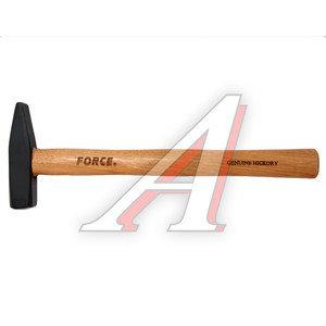 Молоток 0.600кг слесарный деревянная ручка FORCE F-616500