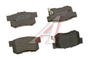 Колодки тормозные HONDA Accord,Civic (EN,FD1),CR-V задние (4шт.) BREMBO P28039, GDB3175
