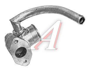 Патрубок МАЗ от радиатора к водяному насосу металлический 6422-1303240