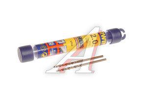 Сверло по металлу 2.0х49мм (2шт.) HSS Cobalt IRWIN 10502509
