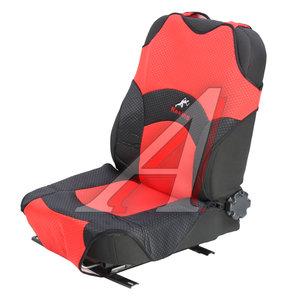 Авточехлы (майка) на передние сиденья красные (2 предм.) 27018 красные