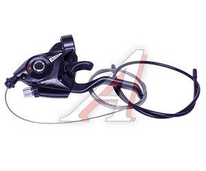 Шифтер велосипедный тормозной левый (3 скорости) черный Tourney SHIMANO ESTEF51LSBL2P