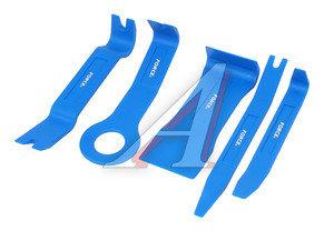 Набор инструментов для демонтажа дверных панелей 5 предметов FORCE F-905M1