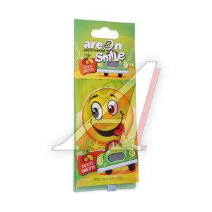 Ароматизатор подвесной пластина (тутти-фрутти) Smile AREON ASD14
