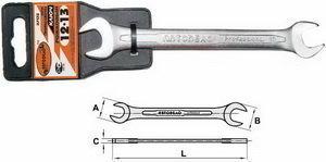 Ключ рожковый 8х9мм Professional АВТОДЕЛО АВТОДЕЛО 37089, 11092