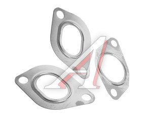 Прокладка ЗИЛ-5301 ЕВРО-2,3 коллектора выпускного комплект 3шт.металл АВТОПРОКЛАДКА 245-1008026/27, 245-1008026