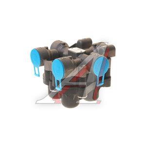 Клапан MAN MERCEDES защитный 4-х контурный KNORR-версия (1хМ22х1.5мм 4хМ22х1.5мм) EBS 18021609, AE4609/II37460, 81521516098