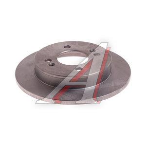 Диск тормозной KIA Picanto (04-) задний (1шт.) VALEO PHC R2050, DF4801, 58411-07500