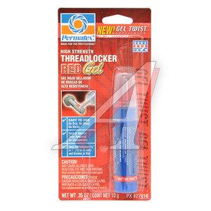 Фиксатор резьбы сильной фиксации анаэробный синий (10-25мм -54С/+150С) 10мл PERMATEX PERMATEX 27010, PR-27010