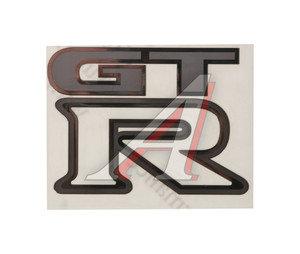 "Наклейка металлическая ""GTR"" 52х70мм MASHINOKOM PKTA 018"
