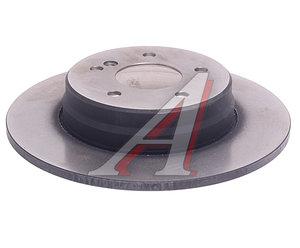 Диск тормозной MERCEDES C (W202) (94-00),E (W124) (94-95) задний (1шт.) TRW DF2813, A124423111264