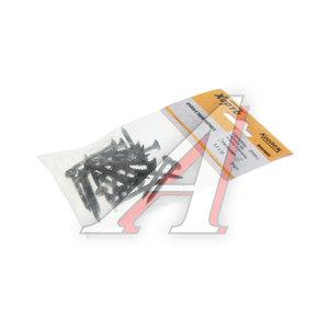 Саморез 3.5х35мм по металлу для ГКЛ черный (24шт.) ХОРТЪ FIT-22535-2, 22535-2
