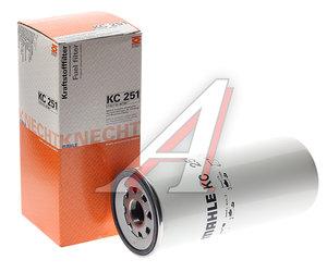 Фильтр топливный MAN RENAULT Magnum VOLVO FH12 (03-) MAHLE KC251, 20976003