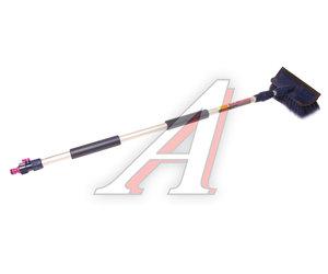 Щетка для мытья автомобиля (под шланг) телескопическая 2-х секционная 20см CITY UP CA-613