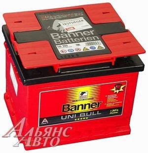 Аккумулятор BANNER Uni Bull 47А/ч двойная полярность 6СТ47 50 100, 83390