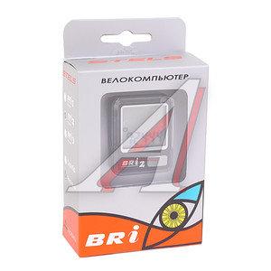 Велокомпьютер 8 функций проводной BRI-2, 060017