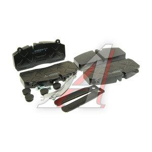 Колодки тормозные SAF B9-22S передние/задние без отв.под пятаки (4шт.) BERAL 2919530004145814, 29175/29195/95396, 3057009600