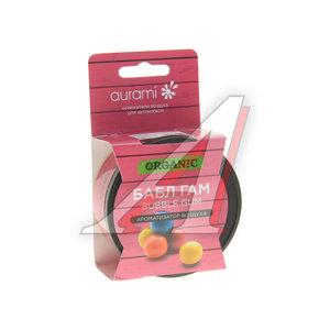 Ароматизатор на панель приборов органический (bubble gum) 60г AURAMI ORG-23